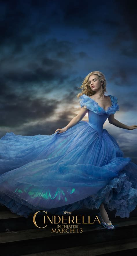 wallpaper peri biru cinderella 2015 movie wallpaper hd gambar film