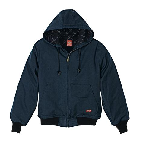 Nzav Jaket dickies s large navy resistant insulated duck jacket with rj701nv xl the