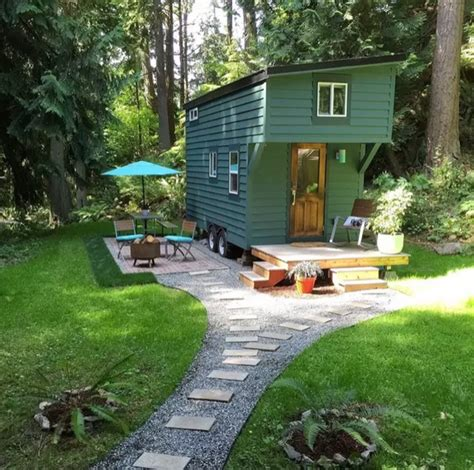 Tiny Houses On Airbnb | 144 sq ft tiny house on guemes island wa