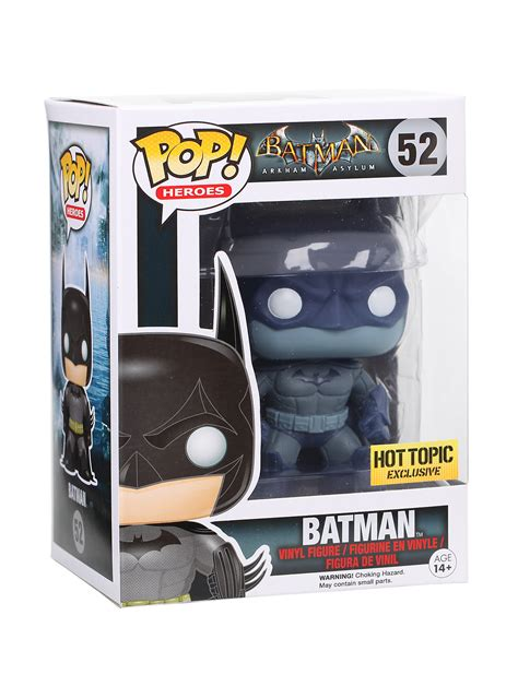 Funko Pop Heroes Batman Arkham Batman 71 pop heroes batman arkham asylum vinyl figure batman distressed 52 topic exclusive www