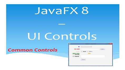 javafx 8 tutorial javafx 8 tutorial ui controls 21 youtube