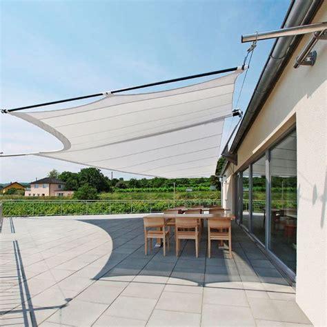 come costruire una tenda da sole vele ombreggianti arredamento giardino modelli e