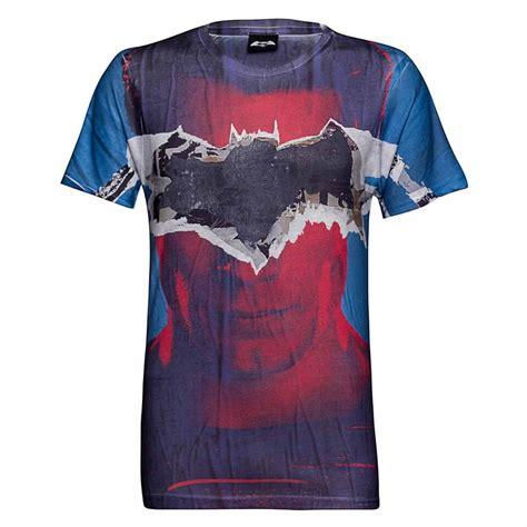 Tshirt Dc Amn Clothing dc comics s batman tear t shirt blue merchandise zavvi