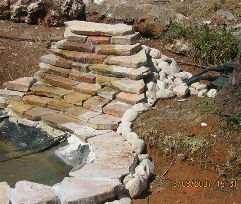 how to build a waterfall pond in the backyard my 600g koi pond i know what i did this past summer