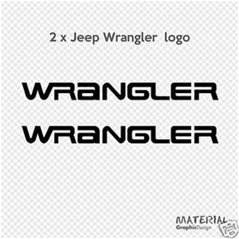 Jeep Wrangler Logo 2x Jeep Wrangler Logo Sticker Decal Moab Rubicon