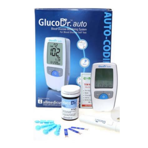 Allmedicus Alat Gluco Dr Auto Meter gluco dr auto gulcometer with free 25 test strips model