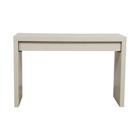 ikea white table 54 off ikea ikea malm white single drawer narrow desk