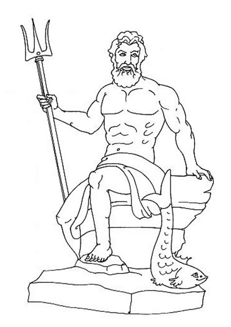 printable coloring pages of zeus free demeter greek gods coloring pages