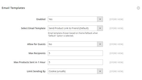 refer a friend email template how to setup refer email to a friend in magento 2