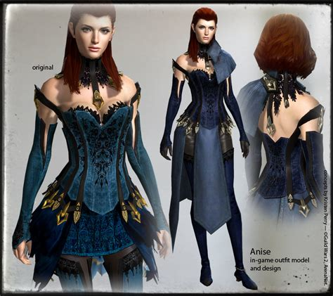 Gw Geisa Dress In Black data mining new from today s patch guildwars2
