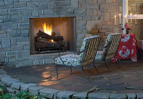 Outdoor Vent Free Gas Fireplace by Superior Gas Outdoor Vent Free Fireplace Vre4500