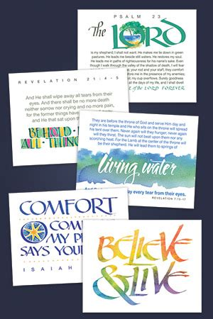 And Give You Peace Devotions For Grieving Booklet
