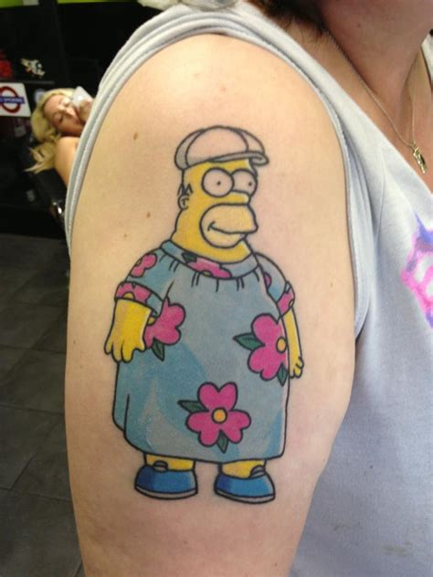 the simpsons tattoo gallery skarro be fun live life