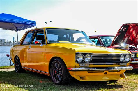 classic datsun 510 10 years of the japanese classic car show drivingline
