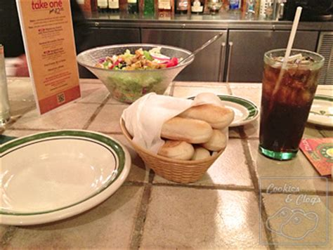 olive garden review w buy one take one promotion gift