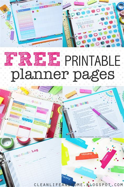 free diy printable planner the 25 best ideas about free printable planner on