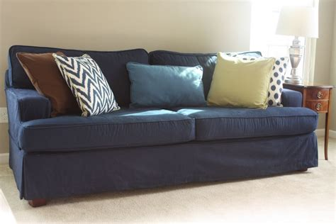 blue sofa slipcovers denim sofa ikea sofa ideas interior design