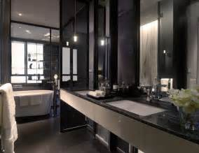 Black Bathroom Decorating Ideas Black White Bathroom Interior Design Ideas