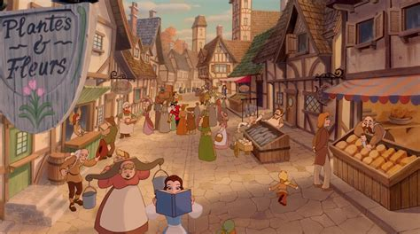 what town is beauty and the beast set in 18 disney locations that were inspired by real world