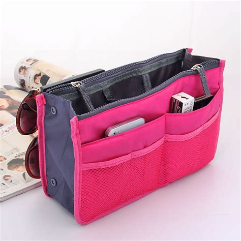 Project Tas Travel Bags In Bag Travel Organizer 6 In 1 aliexpress buy 12 colors make up organizer bag casual travel bag multi