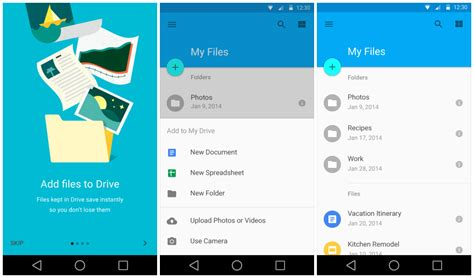 android drive sneak peek at android l s redesigned settings gmail calendar and lots more gallery