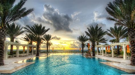 negril jamaica luxury places beaches palm pool ocean