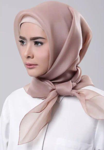tutorial organza hijab intip gaya stylish hijab organza untuk inspirasi outfit