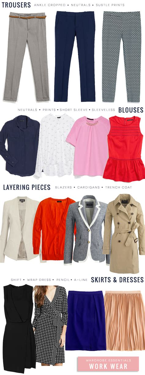 staples needed for hip wardrobe 2014 wardrobe staples stylish office attire