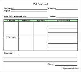 Work Plan Template work plan template 12 free documents for word
