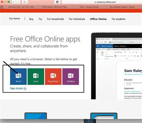 Microsoft Portal Office by Do All Your Work With Apps And Not Buy A Single