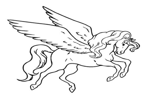 coloring page flying unicorn flying unicorn coloring pages in by kawarbir post