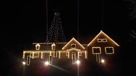 the christmas light show wall nj 2015 youtube