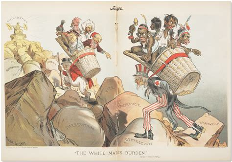 huntington by french brothers the white man s burden wikipedia