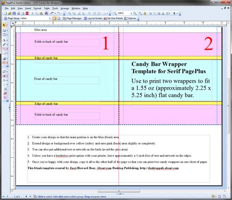 Candy Bar Wrappers Template Free For Word Bar Wrapper Template Microsoft Word