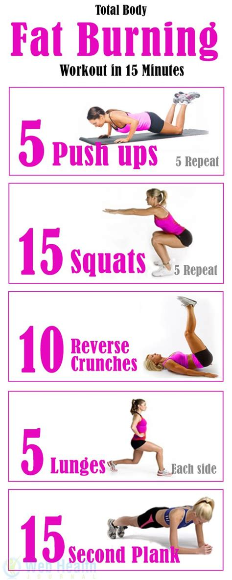 try this total burning workout in 15 minutes
