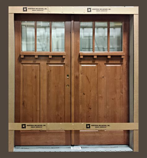 Knotty Alder Exterior Doors Knotty Alder Front Entry Door Heritage Millwork Inc Ramsey Mn