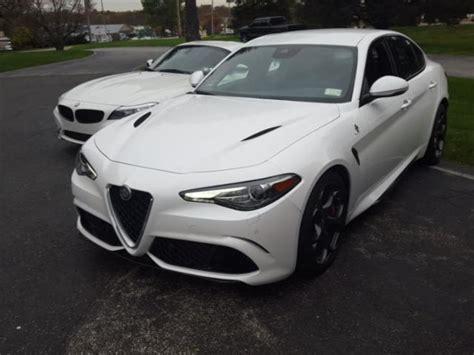 used 2017 alfa romeo giulia quadrifoglio car for sale at