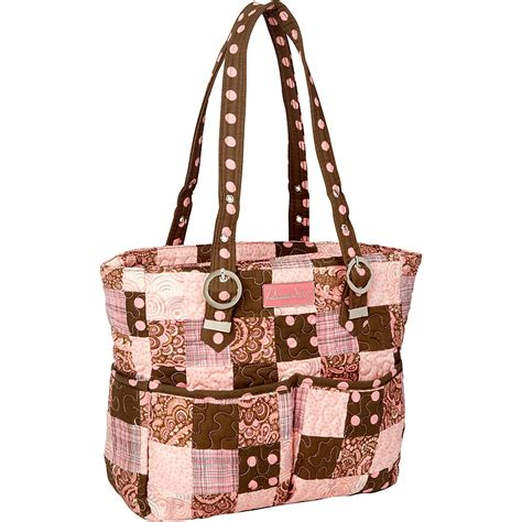 Donna Sharp Quilted Purses by Donna Sharp Elaina Bag Quilted 2 Colors Shoulder Bag New