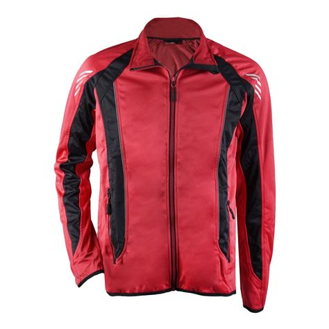 cycling jacket red softshell cycling jacket for men fin red black