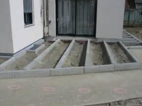 punktfundament terrasse krolop parkett terrassenbau preise