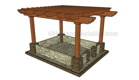 plans for building a pergola how to build a pergola on a patio howtospecialist how to build step by step diy plans