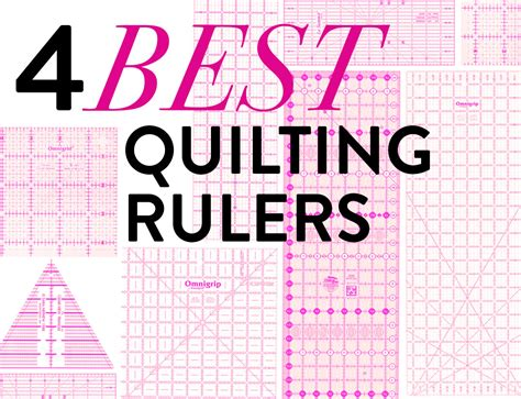 Quilters Rulers And Templates by The 4 Best Quilting Rulers Suzy Quilts
