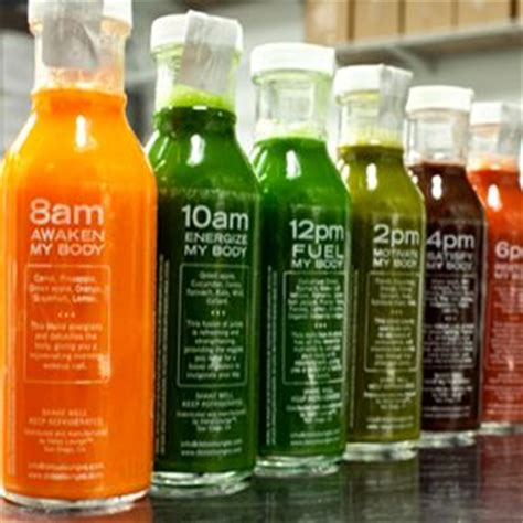 Detox San Diego by Great Idea Glass Bottles For Every 2 Hours 3