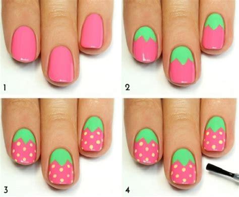Nägel Halb Lackieren nail designs zum thema quot meer quot inspirierende