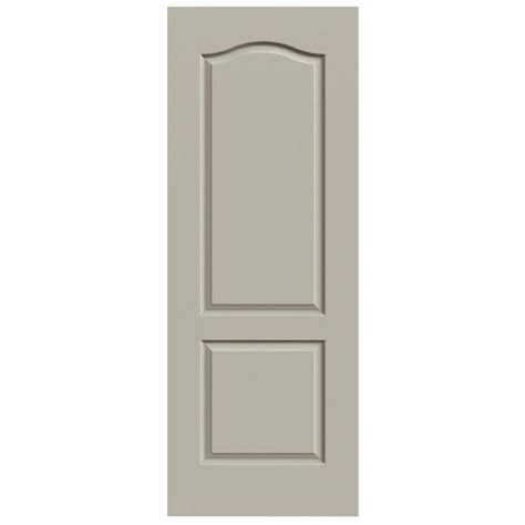 24 X 72 Interior Door Masonite 24 In X 80 In Plantation Smooth Louver Solid Primed Pine Interior Door Slab