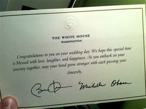 sending a wedding invitation to the white house the 10 coolest wedding things on the