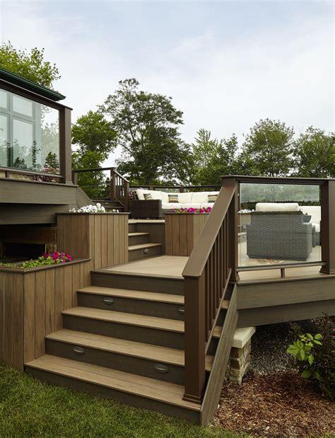nova scotia dream deck  built  timbertech
