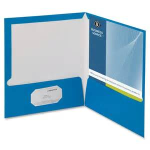 business card folders discounted prices business source two pocket folder