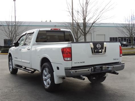 2008 nissan titan bed 2008 nissan titan le 4x4 crew cab leather moonroof