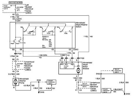 porsche 928 wiper motor wiring diagram get free image